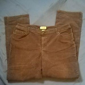 Women's St. John's Bay Corduroy Pants
